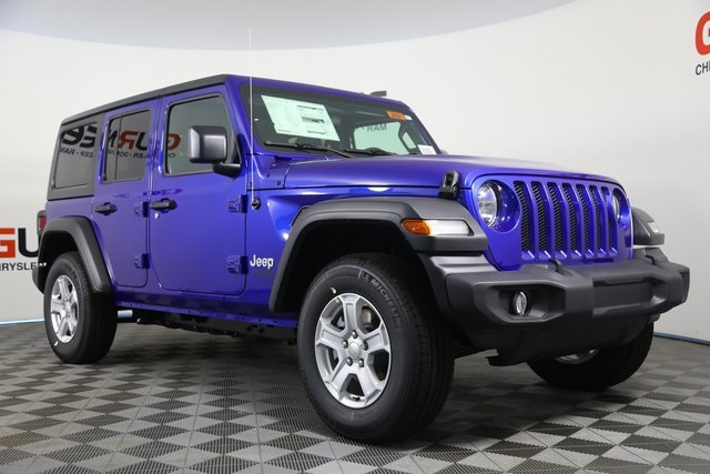 Jeep Wrangler Unlimited Sport >> New 2020 Jeep Wrangler Unlimited Sport S 4x4